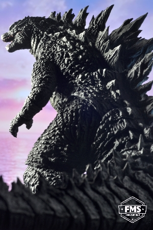 SHMA Godzilla 2014. Inspired by the Monster Planet poster
