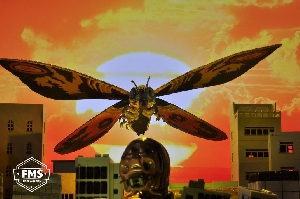 SHMA Mothra Special Color Version. Toy photography art.
