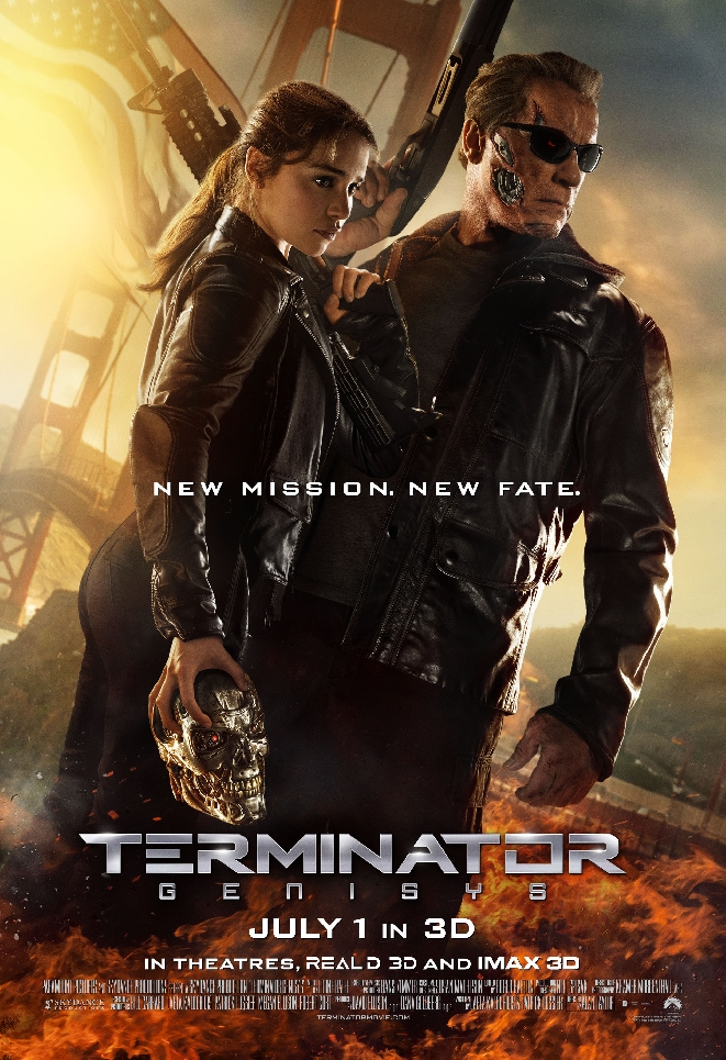 New Terminator Genisys Poster