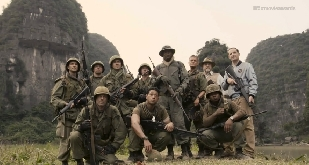 The cast of Kong: Skull Island