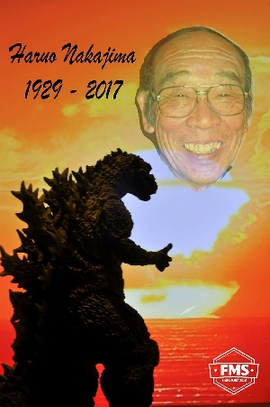 Tribute to Haruo Nakajima. Always be loved and remembered.