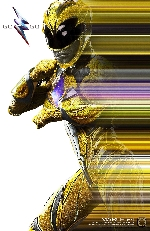 Yellow Power Ranger poster