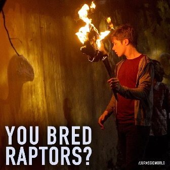 You Bred Raptors?