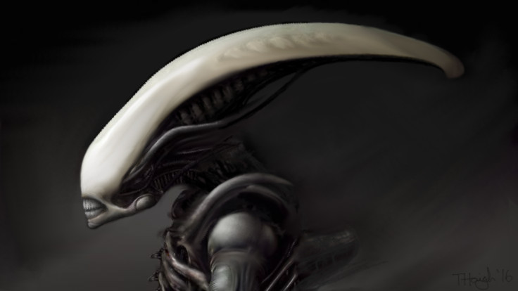 ALIEN: Covenant. New Giger Alien. Fan Art.