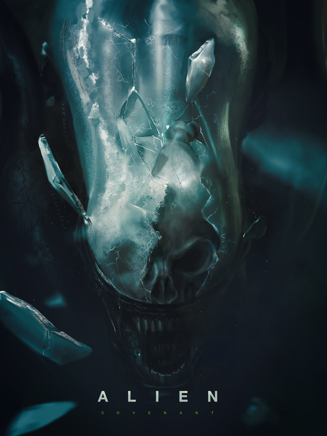 Alien Covenant Poster by M. Chang