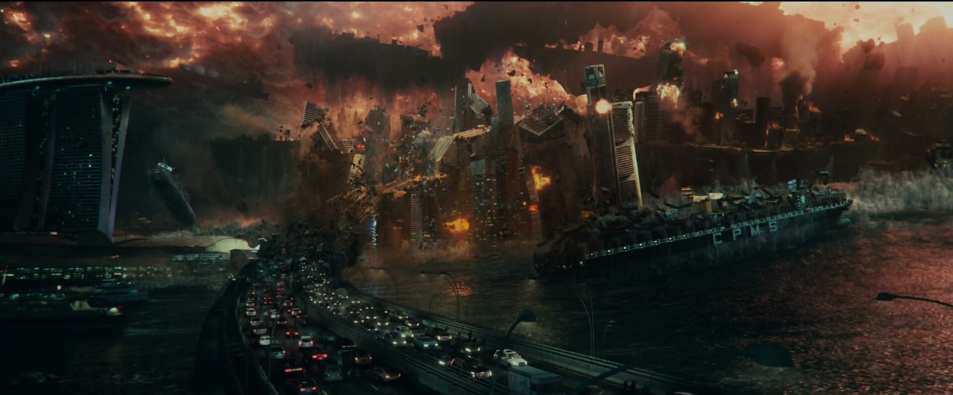 Aliens destroy cities in Independence Day: Resurgence TV Spot