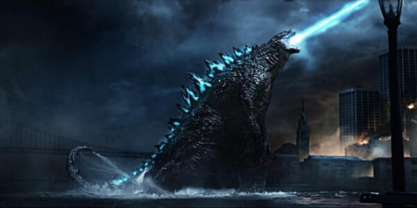 Godzilla 2014 Atomic Breath Fan Render