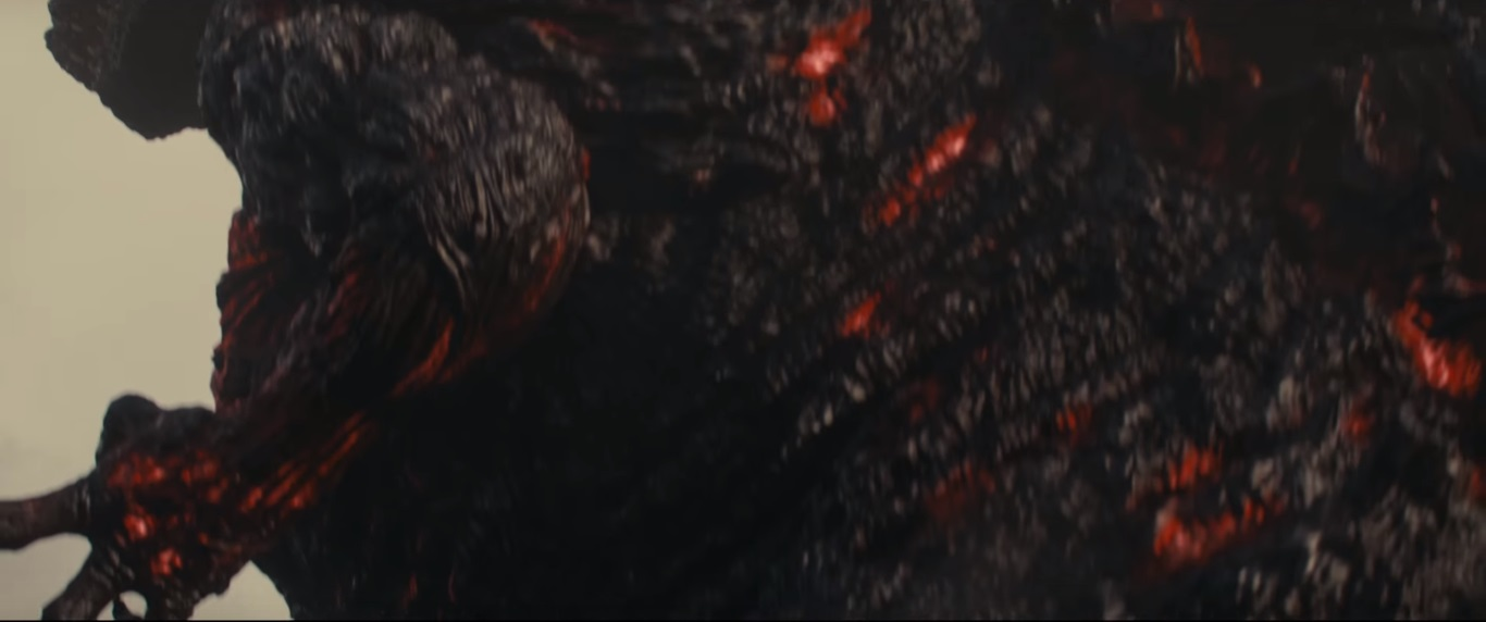 Closer look at Shin-Gojira from the Godzilla Resurgence Trailer