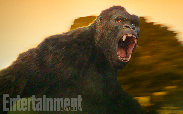 First look at Skull Island's King Kong
