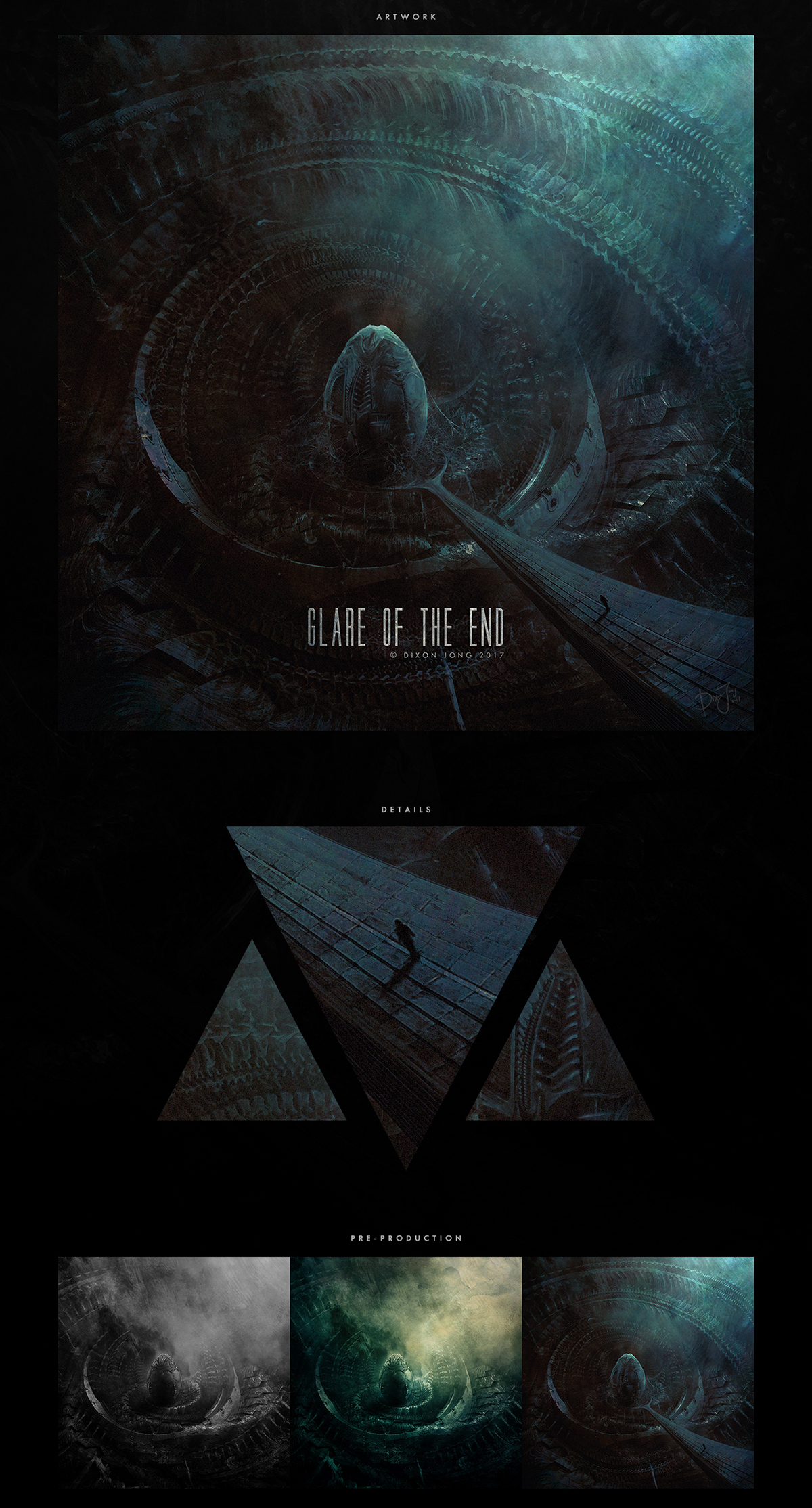 Glare of the End [HR-Giger-Tribute]