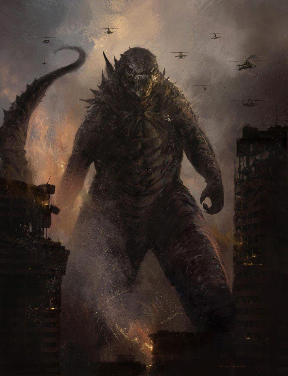 Godzilla 2: King of the Monsters 2019 Concept Art