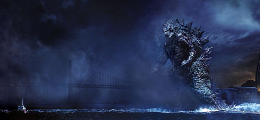 New Godzilla Movie Still 2014