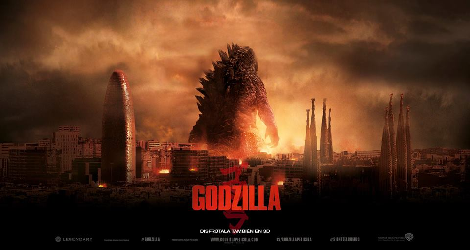Godzilla 2014 Posters images