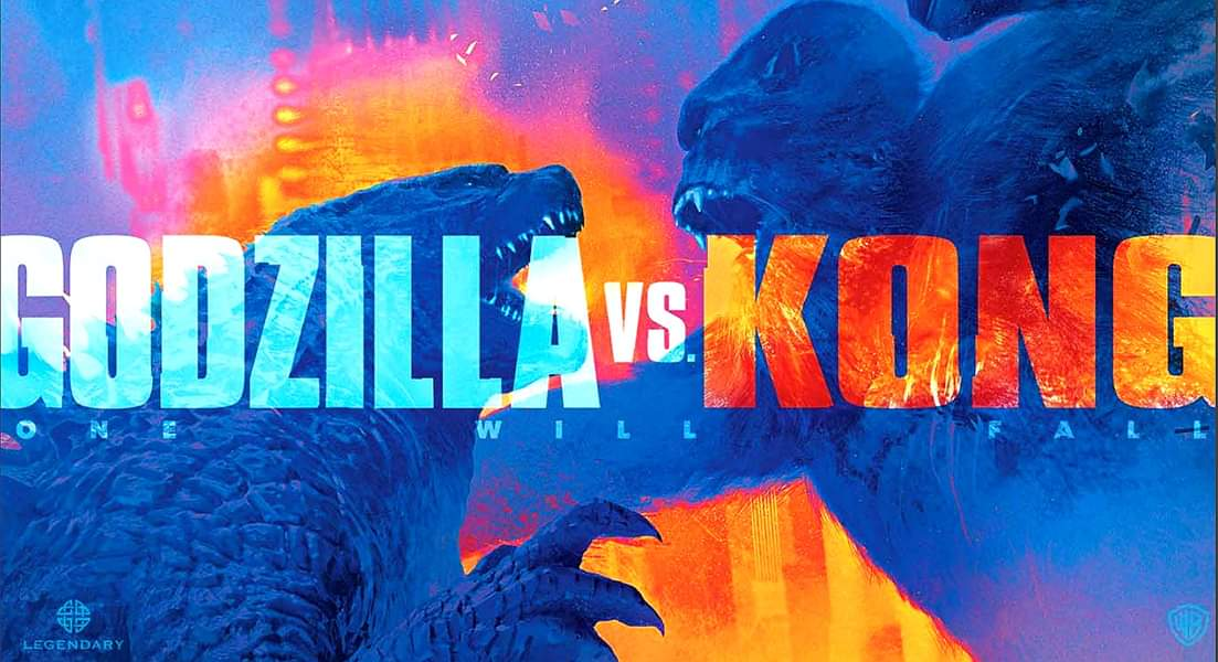 Godzilla vs. Kong official movie banner