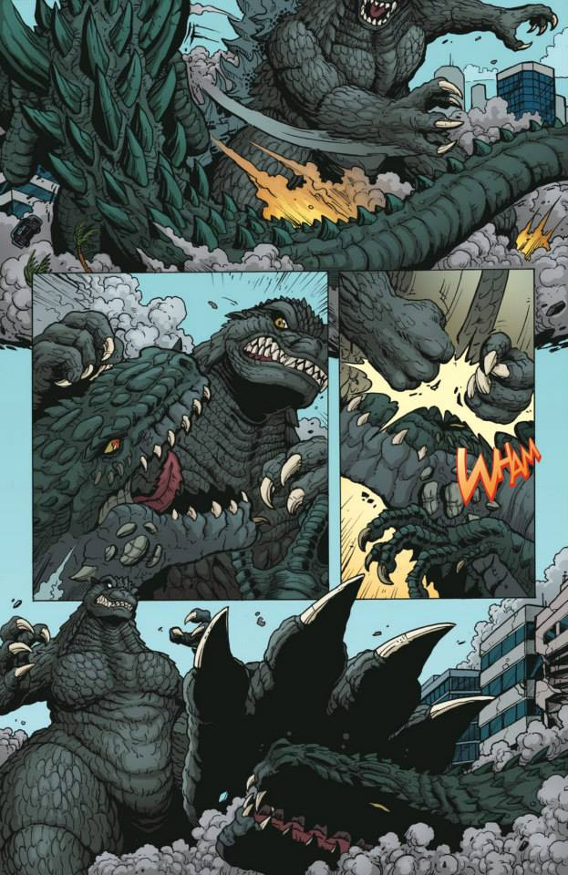 Godzilla: Rulers of Earth Comic Preview