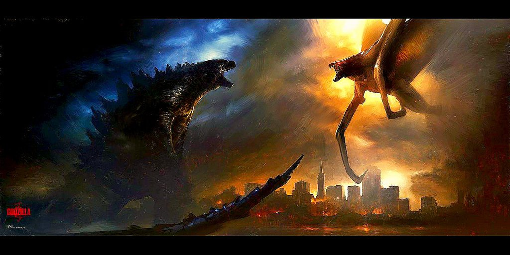 Godzilla vs. MUTO by KingKaijus