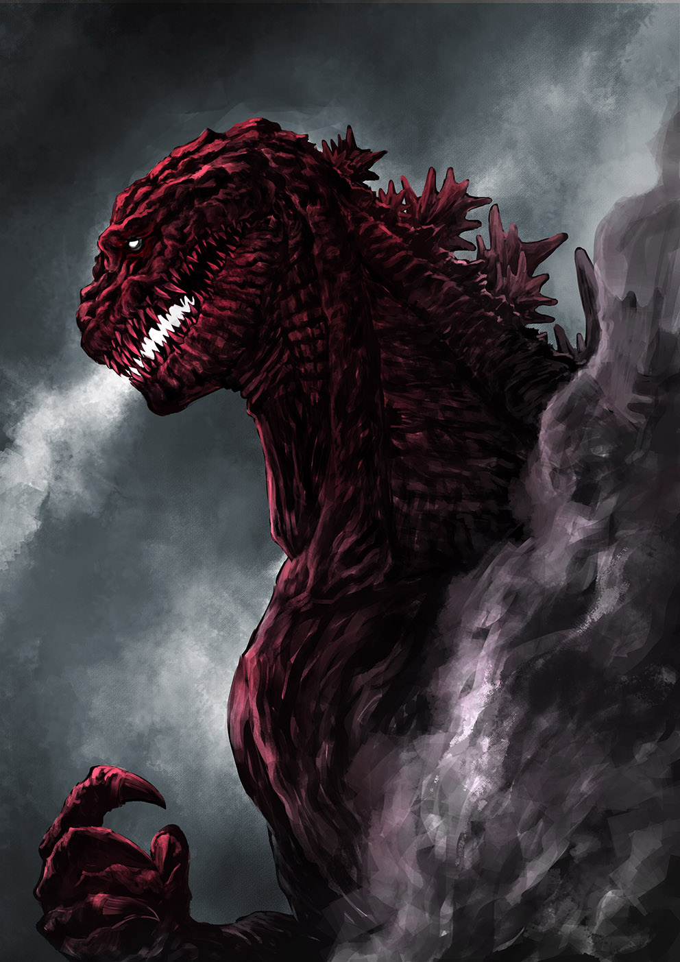 Godzilla Resurgence fan artwork