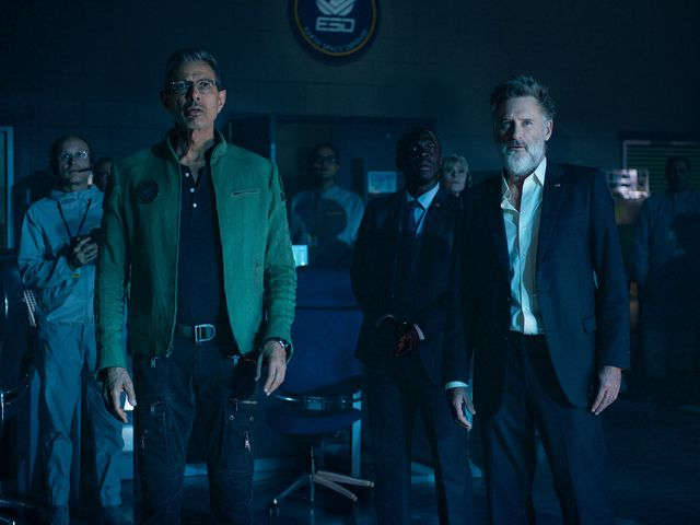 Jeff Goldblum and Bill Pullman in Independence Day: Resurgence