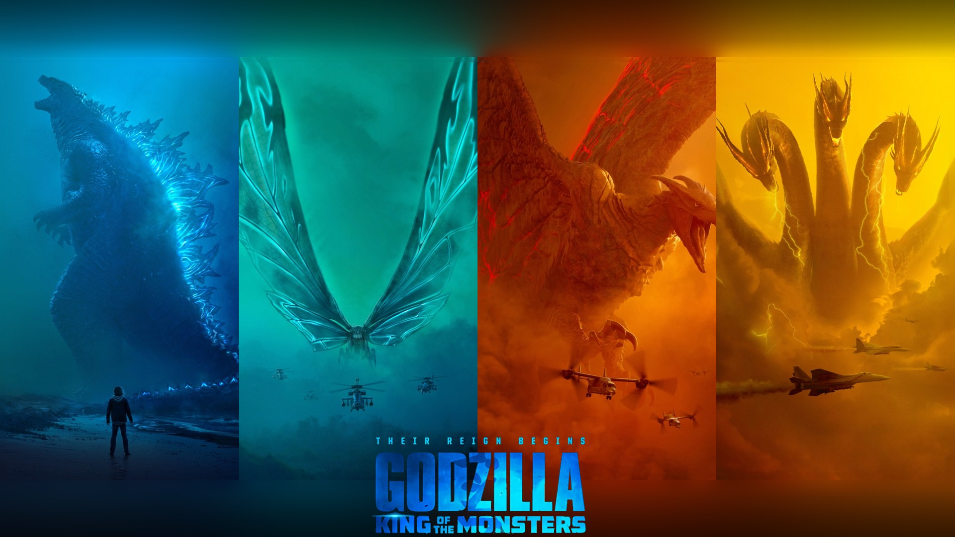 King of the Monsters Wallpaper