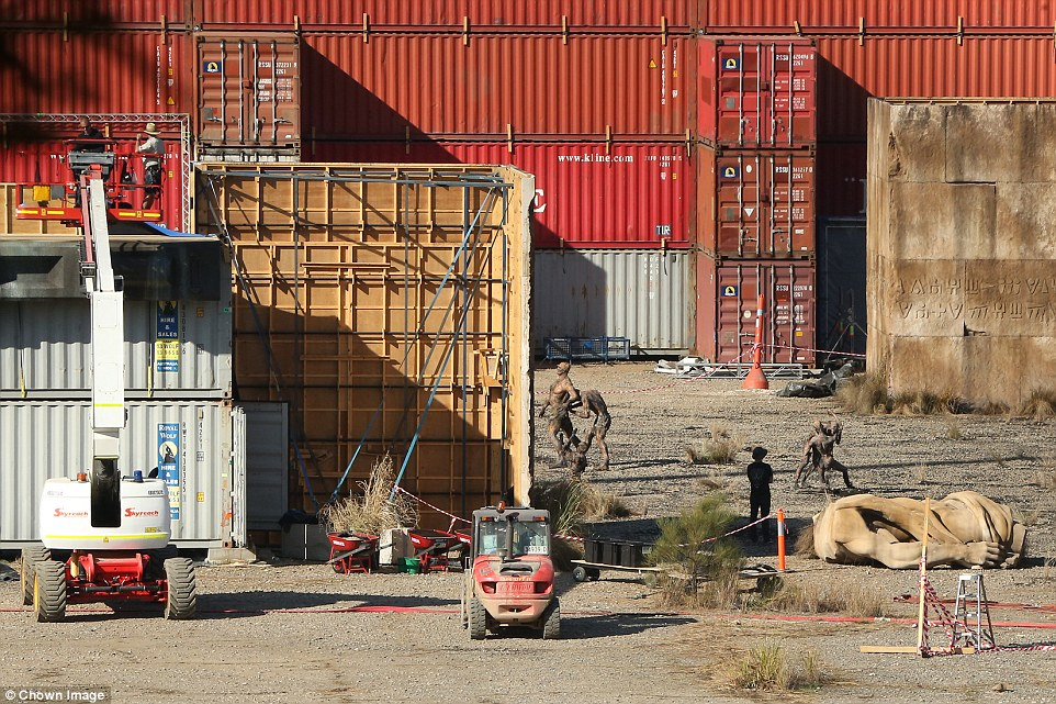 New Alien: Covenant set photo