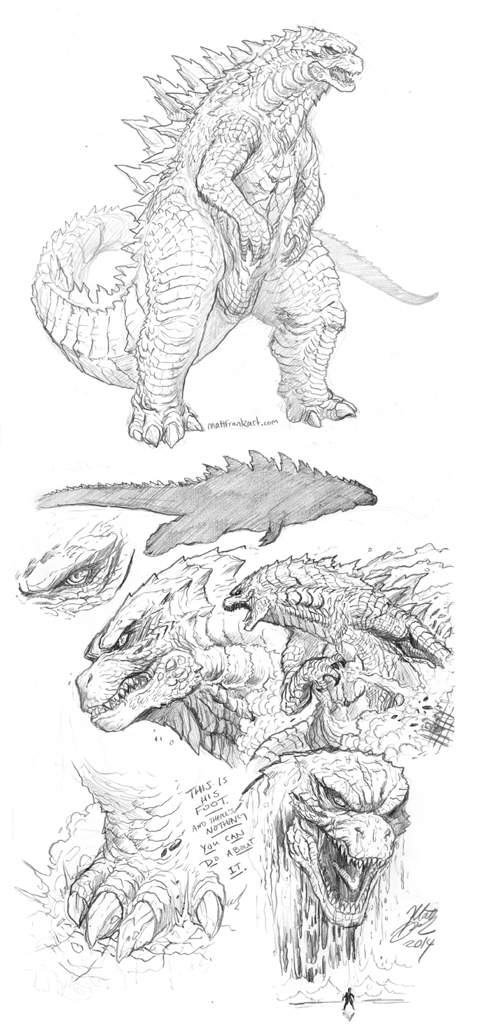 Kaiju on record and was probably a homage to ultraman monsters the