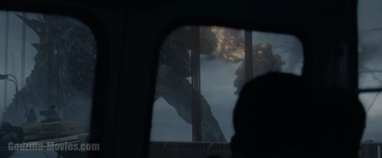 New Godzilla TV Spot Screenshots