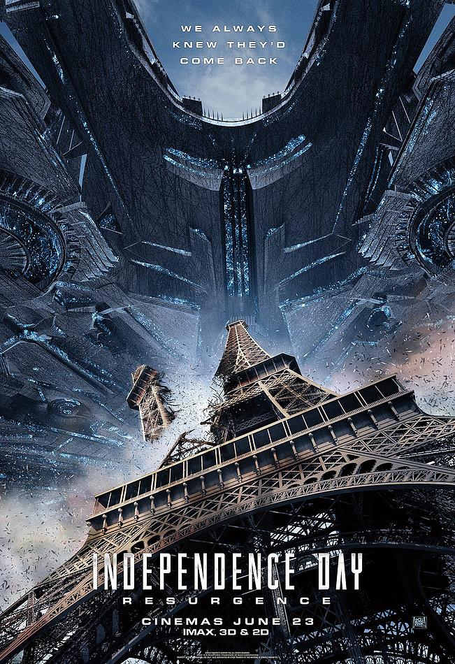 New Independence Day Resurgence Poster - Paris