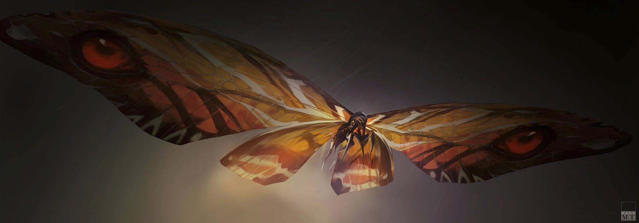 Official Mothra Concept Art