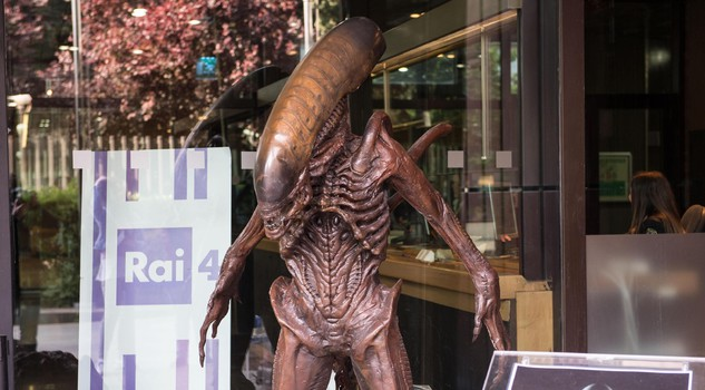 Original Giger Alien at Rai di Viale Mazzini