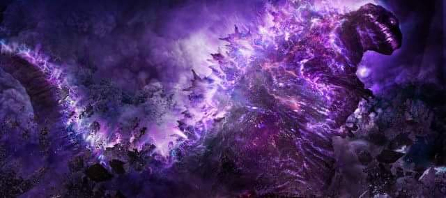 Purple Atomic Energy Godzilla
