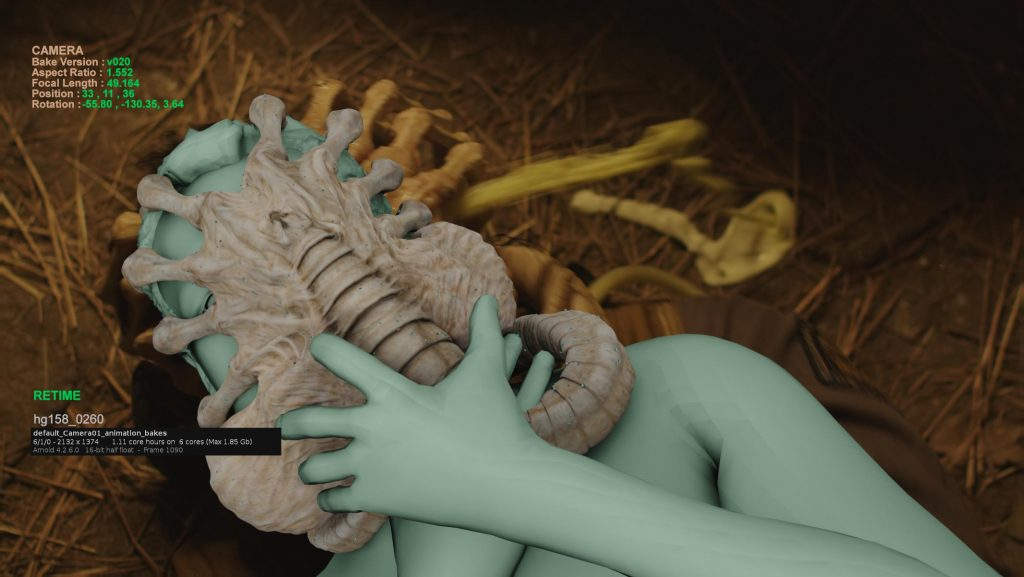 Render Pass (Facehugger)