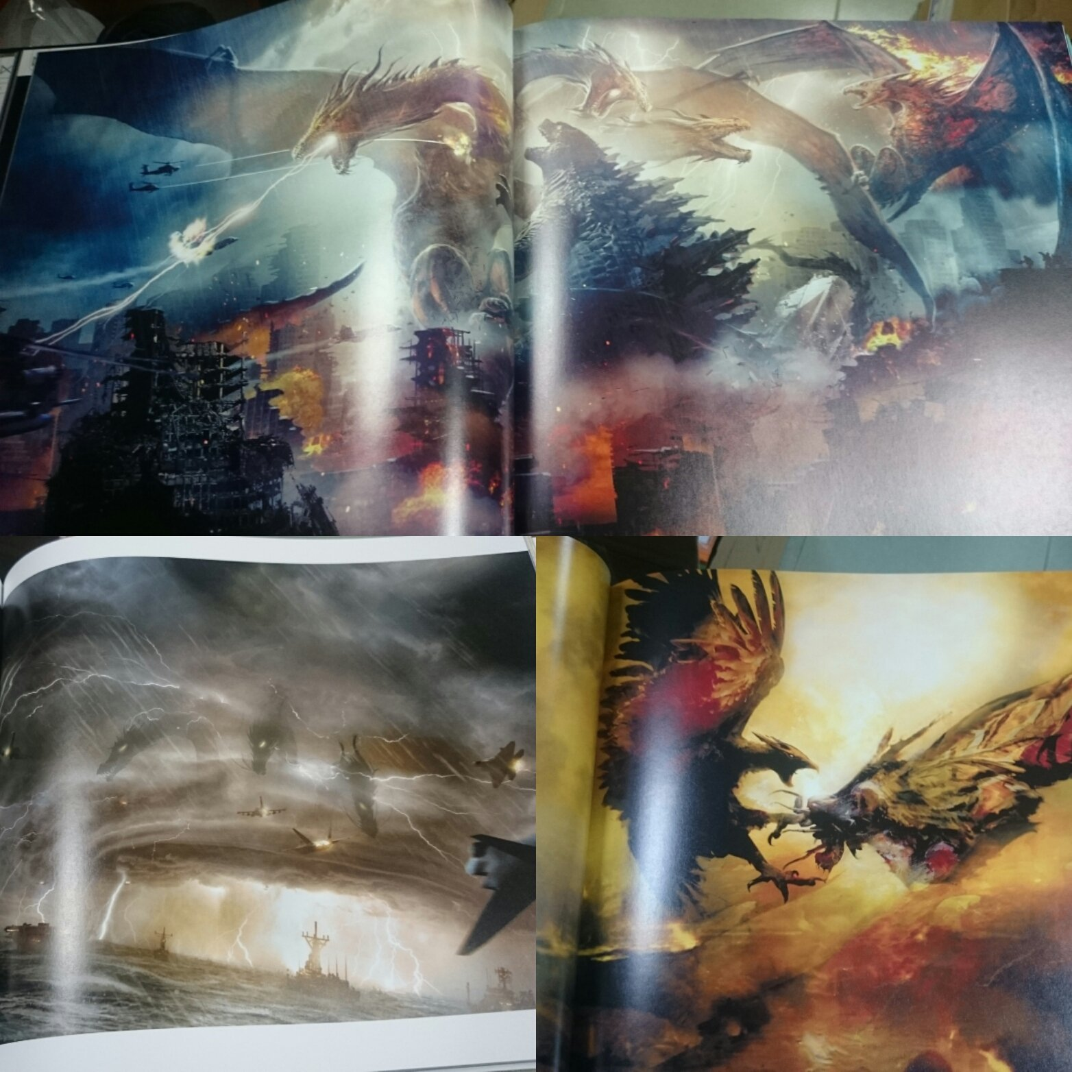 The Art of Godzilla: King of the Monsters (Leaked Scans)