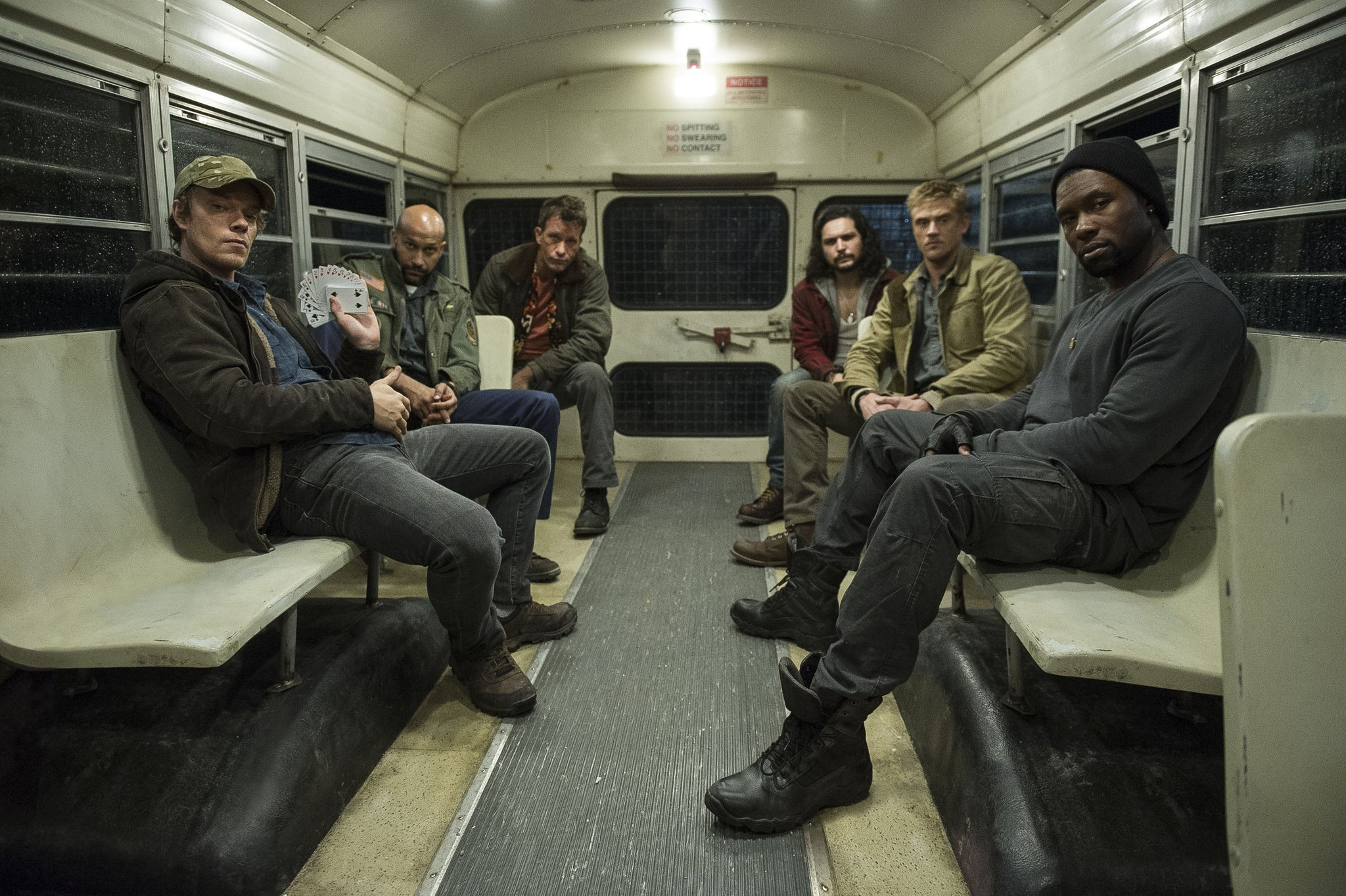 The Predator Cast Photo #2
