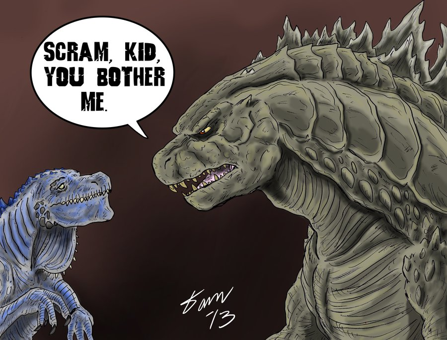 Funny Godzilla 2014 Comic Strip