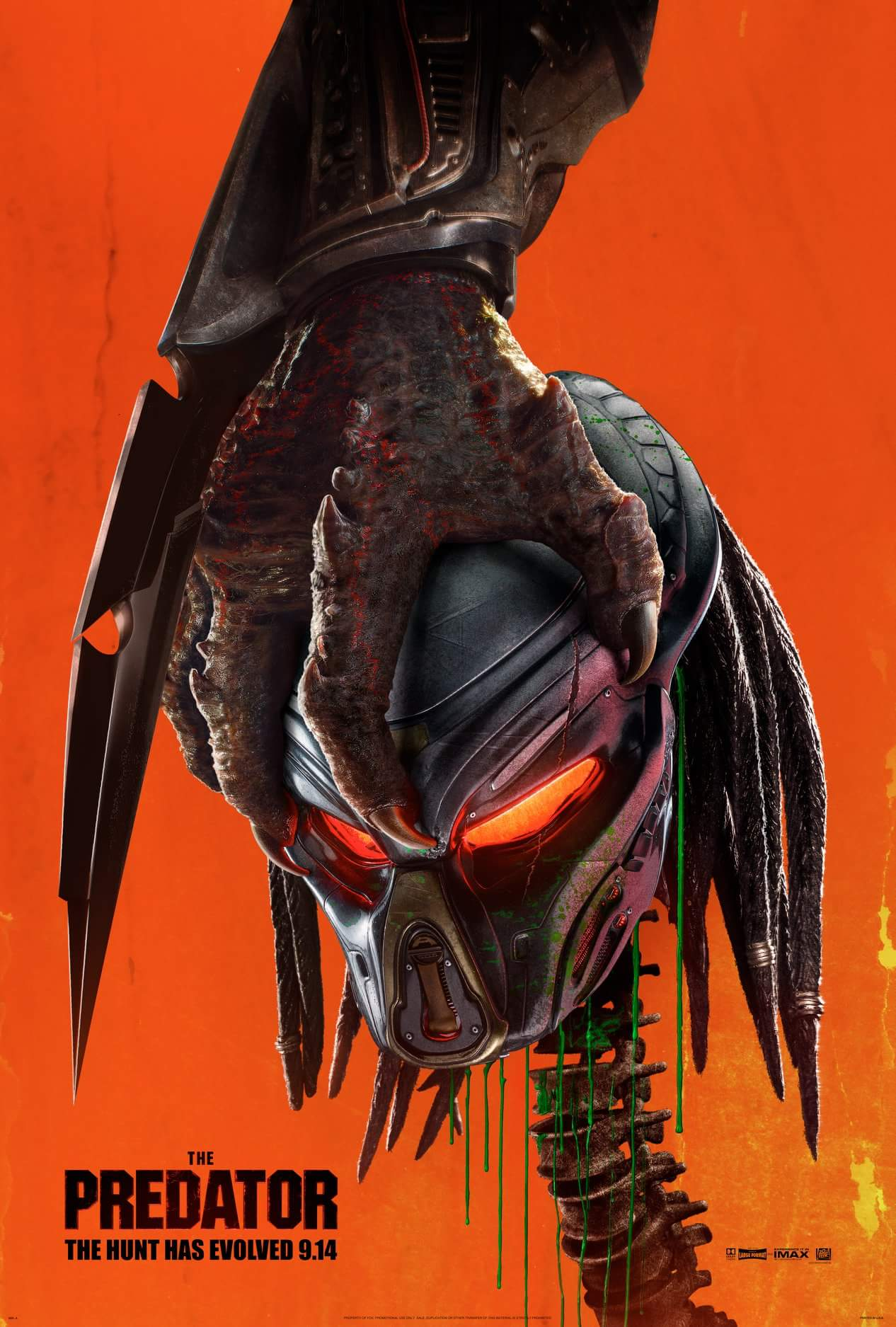 The Predator (Predator 4) movie poster