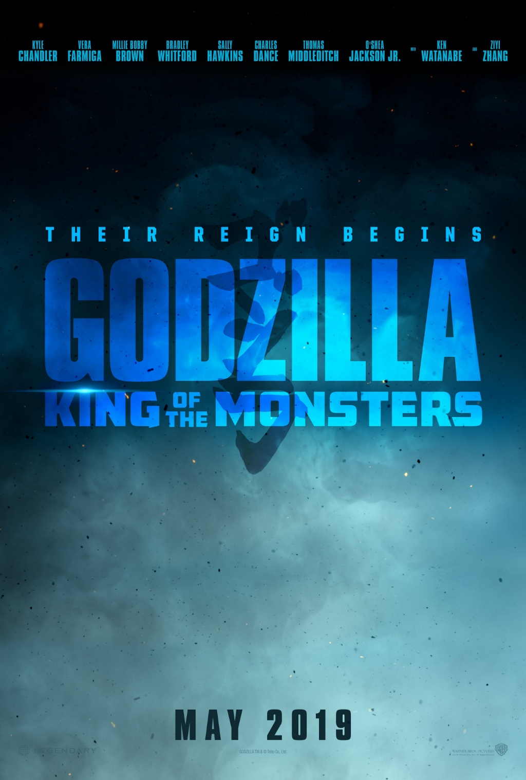 Godzilla: King of the Monsters (2019) movie poster
