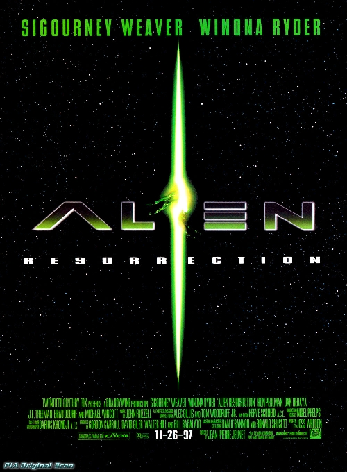 Alien Resurrection movie