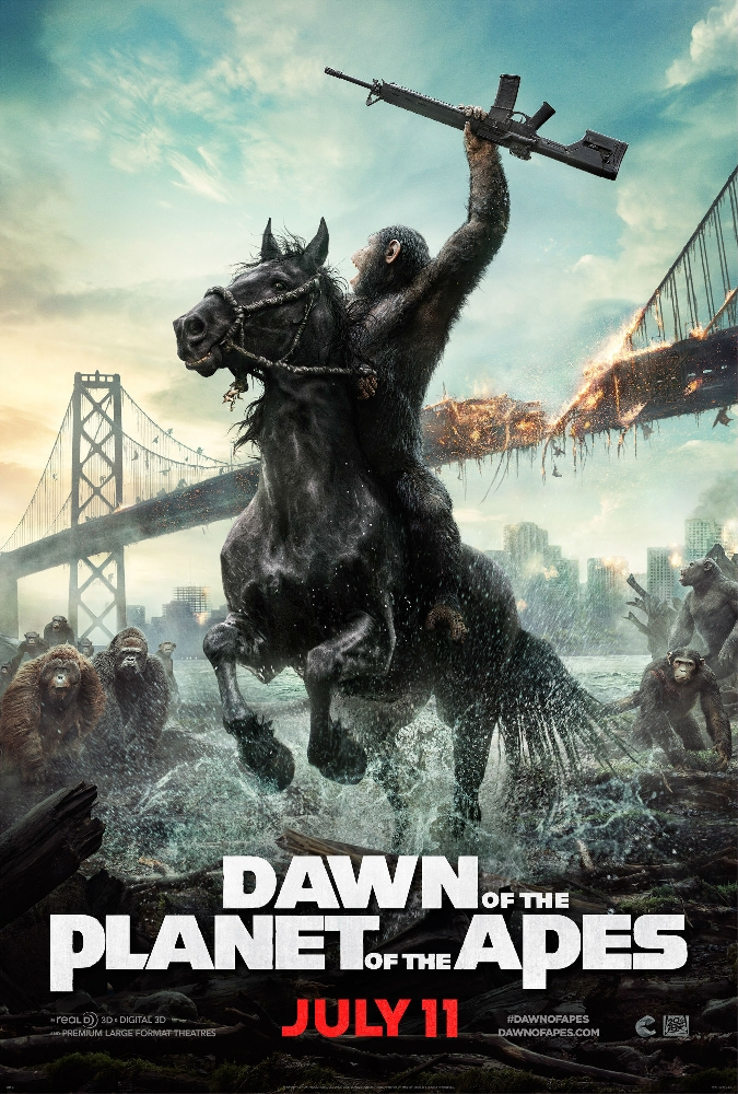 Dawn of the Planet of the Apes movie news, trailers and cast