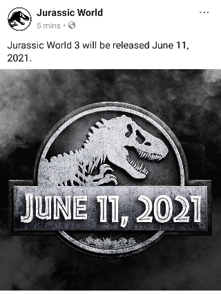 Jurassic World 3 movie