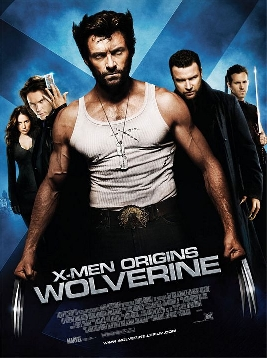 X-Men: Origins - Wolverine movie