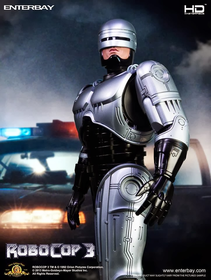 Enterbay Fully Reveals New RoboCop 3 Figure