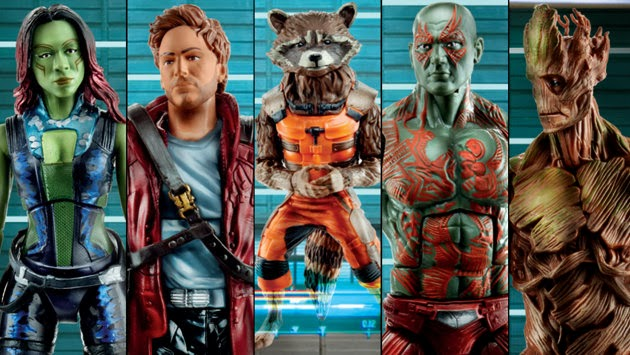 Hasbro Reveals Guardians of the Galaxy Marvel Legends Figures