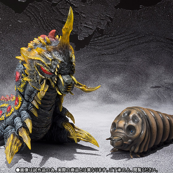 S.H. MonsterArts Mothra and Battra Larvae Revealed