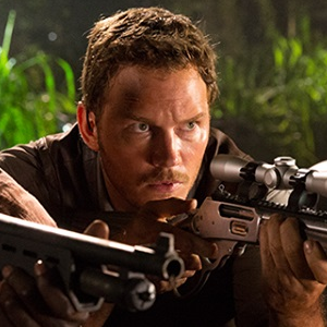 Chris Pratt's reaction after seeing Jurassic World + a roundup of the recent Jurassic World marketing!
