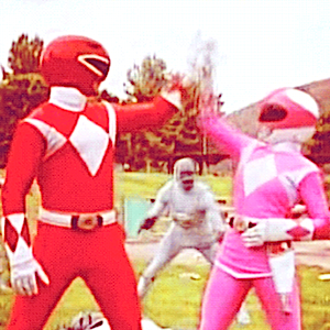 Meet the New Red & Pink Power Rangers