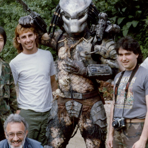 Rare Behind-the-Scenes Videos and Photos from Predator!