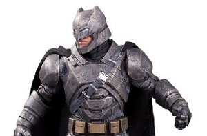 DC Unveils Batman v Superman Statues