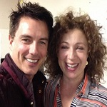 Wishing a 'Happy Birthday' to Alex Kingston and John Barrowman!