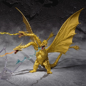 Godzilla News - S.H.MonsterArts King Ghidorah: Special Color Version Arrives in North America in January!