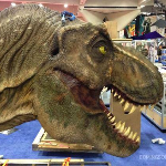 First Look at Jurassic World's Tyrannosaurus Rex from SDCC!